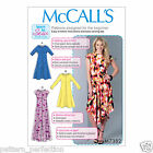 McCall's 7382 Sewing Pattern to MAKE Misses' Pullover Knit Dresses