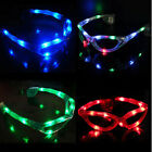 New Flashing LED Light Up Blinking Sun Glasses For The Party Supplies