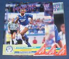 LEICESTER CITY HOME PROGRAMMES 1991-1992