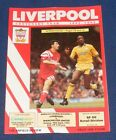 LIVERPOOL HOME PROGRAMMES 1991-1992
