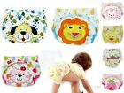 Newborn Infant Baby Toddler Kids Reusable Washable Cloth Diaper Nappy Waterproof