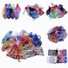 Bulk 7x9cm 9x12cm 10*15cm Organza Wedding Jewelry Packing Favour Gift Bags Pouch