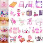 Dollhouse Dwarf Furniture Accessories For Barbie Bathroom Living Room Toys
