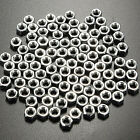 100pcs Stainless Steel Hex Full Nuts Screw 2mm / 2.5mm / 3mm / 4mm / 5mm / 6mm