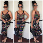 Sexy Women Party Jumpsuit Backless Playsuit Bodycon Romper Trousers Clubwear New