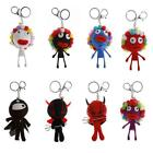 Villain String Doll Voodoo Keyring Keychain Horror Characters Charm Pendant - CB