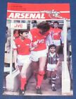 ARSENAL VARIOUS HOME PROGRAMMES 1983-1984