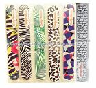SALLY HANSEN Designer NAIL FILE/SHAPER Decorative Design DUAL-SIDED *YOU CHOOSE*