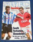 SHEFFIELD WEDNESDAY VARIOUS HOME PROGRAMMES 1997-1998