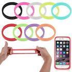 Hot Luminous Bracelet Phone Frame Band Silicone Bumper Back Case For Cellphone