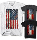 ★Herren T-shirt Vintage USA Flagge Grunge Old School Rock Neu S-5XL UG11115★