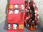 BETTY BOOP LOVE BOWLING SHOE COVERS-TOWEL-ROSIN BAG SET $30.0 USD