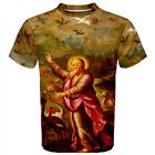 God the Creator T-Shirt Living Creatures Birds & Fishes Religion