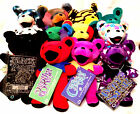 GRATEFUL DEAD COLLECTIBLE BEANIE BEARS BY LIQUID BLUE - FROM EDITIONS 1 AND 2