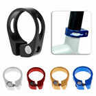 BIKE CYCLE SEAT POST CLAMP - VARIOUS COLOURS - 31.8mm / 34.9mm