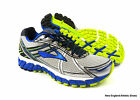Brooks men Adrenaline GTS 15 running shoes -  White / Olympic / Lime Punch