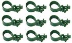NEW 25cm GREEN Soft Rubber Tree Ties Straps Plant Support Whip BAREROOT STRAPS
