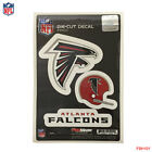 Brand New NFL All Teams Team ProMark Die-Cut Decal Stickers 3-Pack