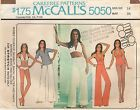 1 & 2 PIECE SWIMSUITS, TOP, PANTS - McCall's 5050, Misses' 10 or 14