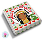 Personalised NATIVE AMERICAN Tribe Pow Wow Birthday Party Bag Favour Chocolates