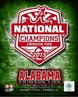 Alabama Crimson Tide 2015 Football National Champions Photo SP214 (Select Size)