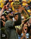 LeBron James Cleveland Cavaliers 2016 NBA Finals Trophy Photo (TC183)