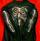 ZigZags AMERICAN MotorCycle Long Sleeve T-Shirt Rib Cage CLEARANCE was $23