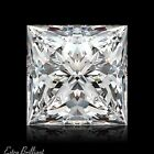 0.72ct D/VS1/Ideal-Pol Princess Cut GIA Certify Genuine Diamond 5.00x4.89x3.64mm