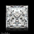 0.73ct E/VS2/Ideal-Pol Princess Cut GIA Certify Genuine Diamond 4.99x4.93x3.44mm