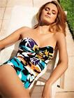 MIRACLESUIT BARCELONA BANDEAU ONE PIECE MIRACLE SUIT BATHING SWIMMING COSTUME