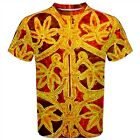 Pentateuch Carpet T-Shirt All Over Arabesque print XS-3X 12th century Torah