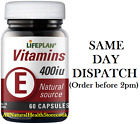 LIFEPLAN VITAMIN E 400iu 60 CAPSULES MULTIBUY SAVINGS