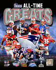 New England Patriots 4X Super Bowl Champions All Time Greats Photo (Select Size)