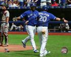 Edwin Encarnacion & Josh Donaldson 2015 MLB Action Photo SW175 (Select Size)