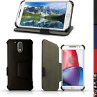 PU Leather Folio Case for Motorola Moto G 4th Gen XT1622 & G4 Plus Flip Cover