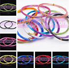 Wholesale Lots 1-3mm 5 Size Aluminum Wrap Craft Wire Cord Thread Jewelry Making