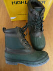 HIGHLANDER GREEN/BROWN MORTON RUBBER MUCKER BOOTS  UK 6   BNNB