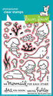 Mermaid for You -Clear Stamps LF1167 Or Craft Dies LF1168 - Lawn Fawn Ocean Sea