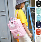 New Fashion Women's Canvas Travel Satchel Shoulder Bag School Backpack Dual-use