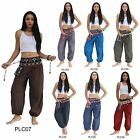 Pants PLC01-07 Cotton Embroidered Tribal Hmong Gypsy Harem Genie Aladdin Women