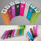 2600mAh Aluminum USB Power Bank 18650 Battery Charger DIY Kit for iPhone 5S 6S