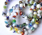 Free Ship Mixed Color Millefiori Glass Loose Beads 4MM 6MM 8MM 10MM 12MM SH256