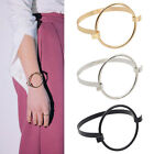 Circle Bangle Jewelry Charm Simple Womens Bracelet Cuff Holder Wristband