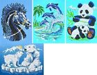 KSG Sequins & Beads Sequin Art Picture Kit - ANIMALS
