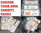 ( 25 ) Coupon binders sleeves pages VARIETY PACK - NEW!