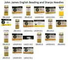 2 to 25 John James English Beading and Sharps Needles