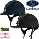Gatehouse Conquest MKII Riding Hat (Suedette with Glitter Finish) FREE UK DELIVE
