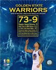 Golden State Warriors NBA Season Record 73 Wins Photo SX216 (Select Size)
