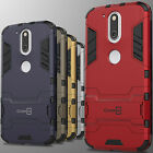 For Motorola Moto G4 / Moto G4 Plus Case Hard Kickstand Protective Cover