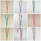 Preppy Grosgrain Ribbon Lanyard Trimmed with Lilly Pulitzer Fabric Many Prints